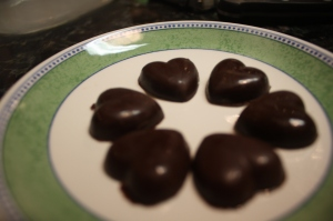Chocolate Peppermint Hearts