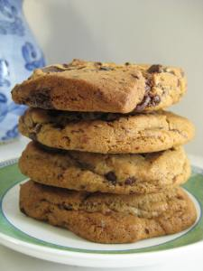 Stacked Chunky & Dark Choco Chip Cookies